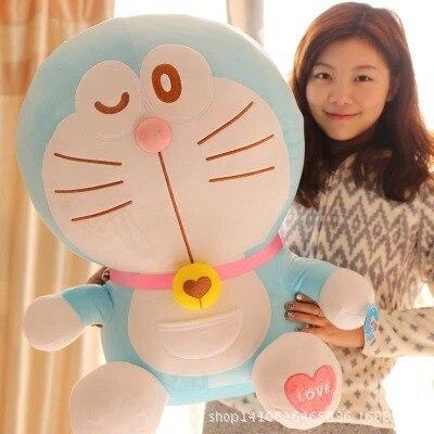 30cm Anime Cartoon Cute Doraemon plush toys Japanese anime Doraemon Cat Plush Toys For Childrens Gift ,3 styles