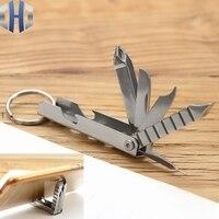 12-em-1 multi-função chave de fenda chave de fenda ferramenta arquivo de unhas titular do telefone móvel mini faca