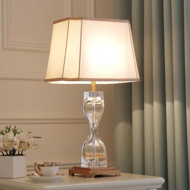 Led Table lamp Lustre Modern Table Lamps For Living Room Bedroom ...
