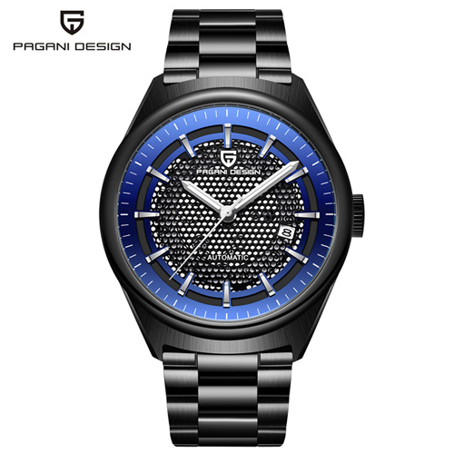 2019 NEW Men 39 s Watches PAGANI Luxury Design Mechanical Automatic fashion business men stainless steel watch Clock Reloj Hombre in Mechanical Watches from Watches