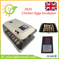Best Sale Digital Control 24 Egg Incubator Automatic Turning Chicken Quail Poultry Hatcher