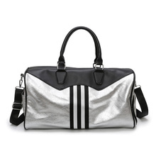 Sport Bag For women Gym Bag Womens Men Waterproof PU Travel Sport Fitness Bags Large Capacity Travel Handbags men gym sport travel bag pu outdoor travel bag women fitness crossbody shoulder bags large capacity leather luaggage storage bag