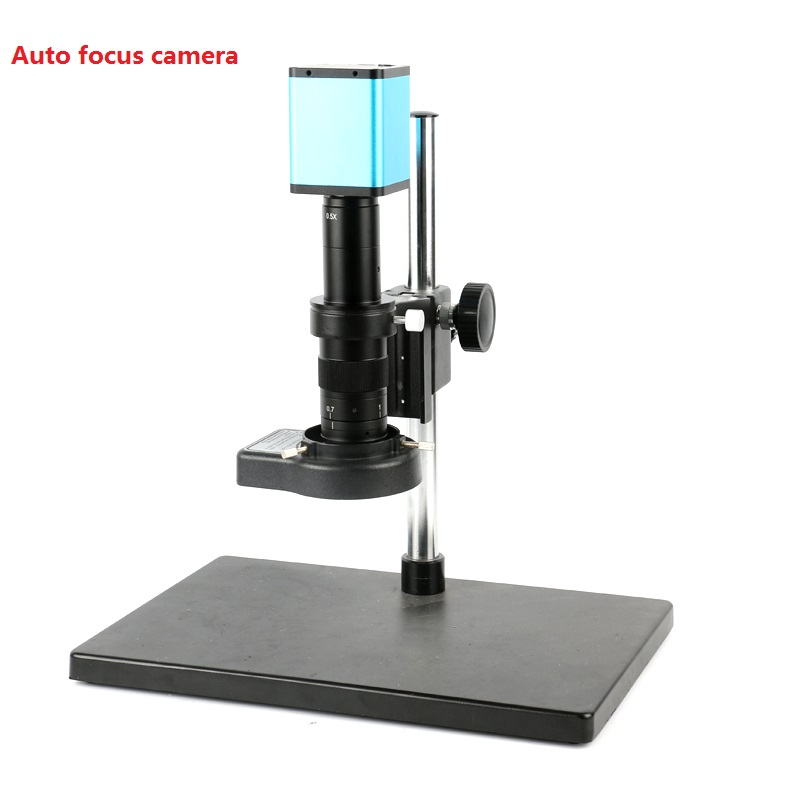 180X 300X C-Mount zoom Lens boom table self focus 1080P 60FPS SONY SENSOR <font><b>IMX290</b></font> HDMI <font><b>USB</b></font> auto focus Microscope Camera image