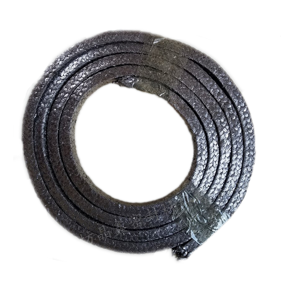 8*8mm A Grade Pure Graphite Packing Steel Wire High Pressure Flexible Graphite Packing Nickel Wire Valve Graphite Sealing Rope