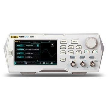 "Rigol DG811 10 MHz Fonksiyon/Keyfi dalga Jeneratörü, 1 Kanal 4.3 ""TFT renkli dokunmatik ekran"