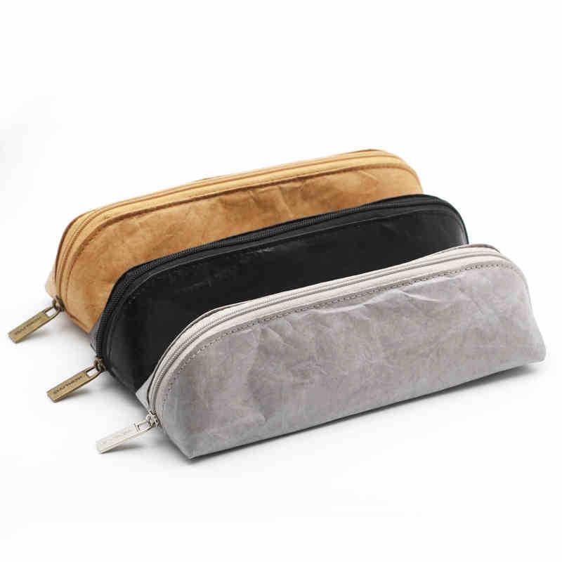 2019 Fashion Tunacoco Japanese Kokuyo Pc-102 Ssort Dupont Paper Pencil Bag Pencil Case Kawaii Pencil Box School Office Supplies Bd1710032