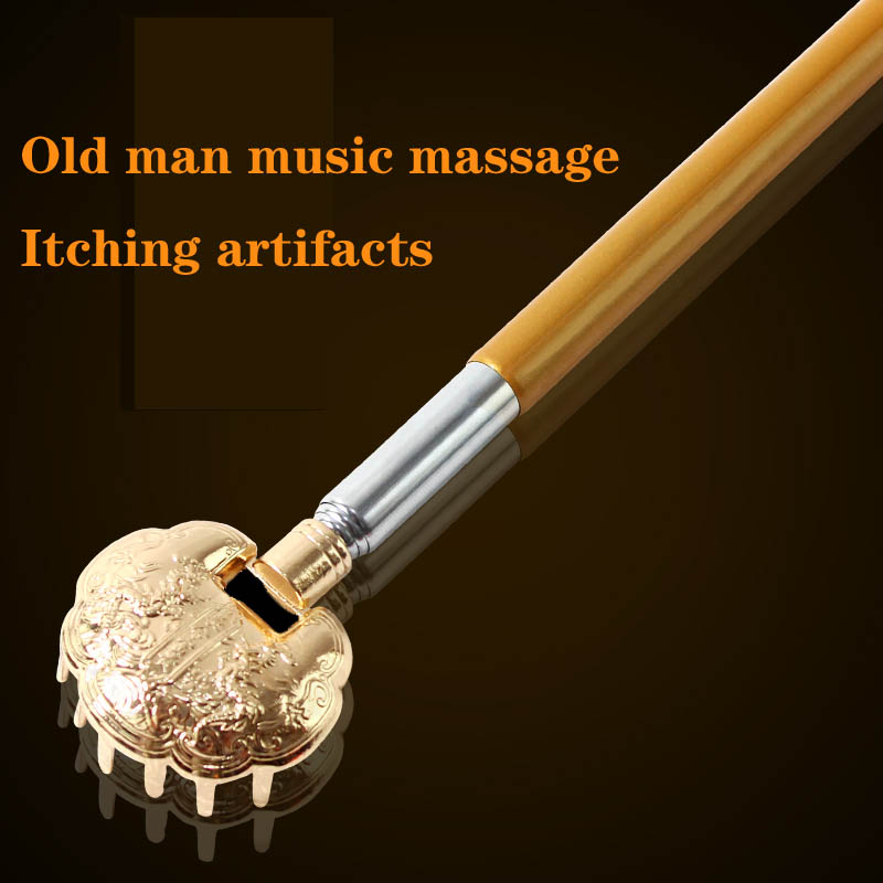 Don't ask for telescopic stainless steel scratching itch is the old man music with back massager gift sell lots of rake very old man with enormous wings