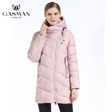 1311abde69e96 GASMAN yeni kış moda aşağı ceket kadın kış kapüşonlu kalın aşağı Parka kış  ceket ve ceket kadın ucuz kapşonlu sıcak ceket