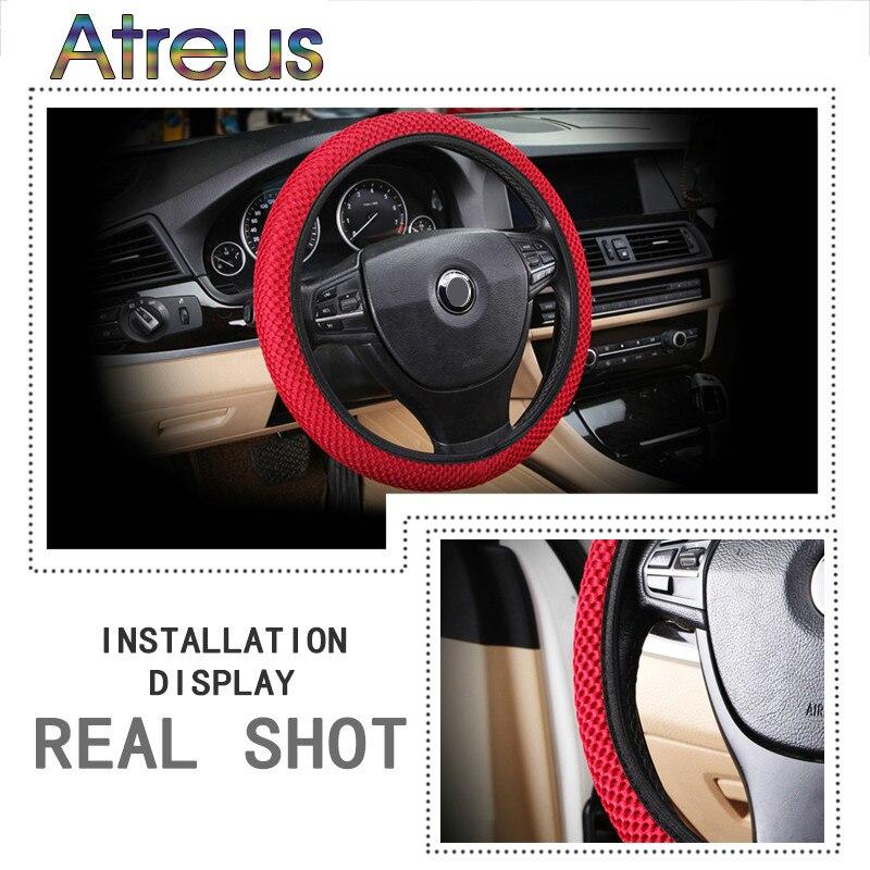 Hot Sale DIY Breathability Skidproof Car Steering Wheel Cover For - Acura steering wheel cover