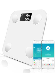SDARISB Bluetooth-Scales Display Scale-Body Weight Water-Muscle Body-Fat Smart Backlit