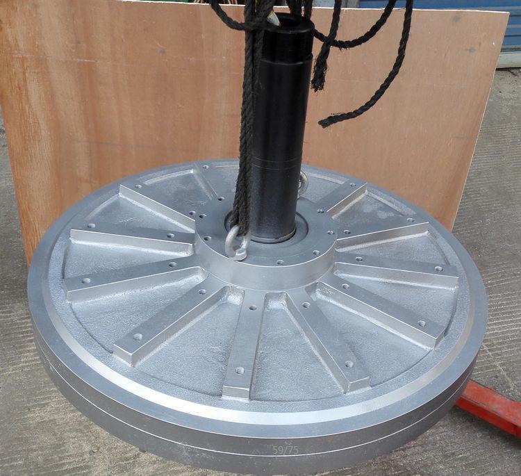 5000W/5KW 100 150RPM 96 220 380VDC vertical wind turbine permanent magnet alternator coreless household DIY generator