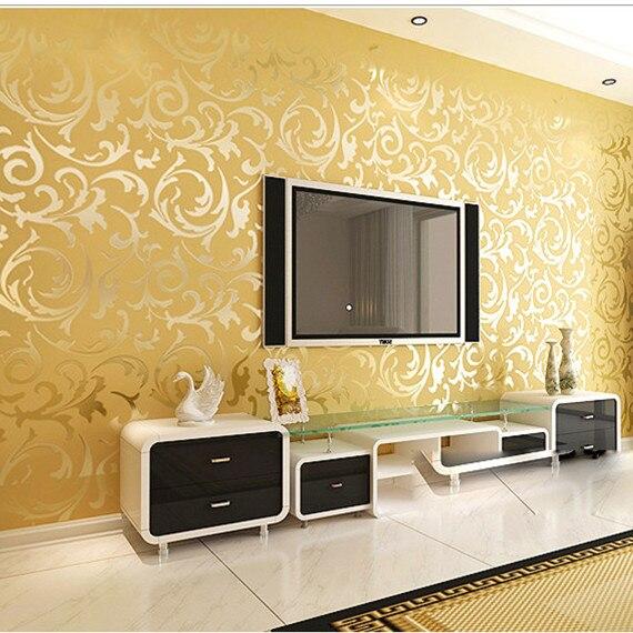 silver gray wallpaper rolls papel de parede tijolo eco friendly ...