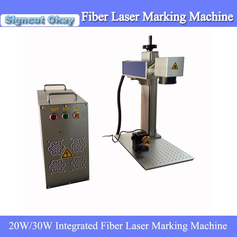 Low Price Mini Portable Fiber Laser Metal Marking Machine