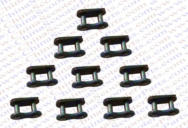 10PCS 428H  Chain Master Link  150CC 200CC 250CC Dirt Pit ATV Quad Go Kart Buggy