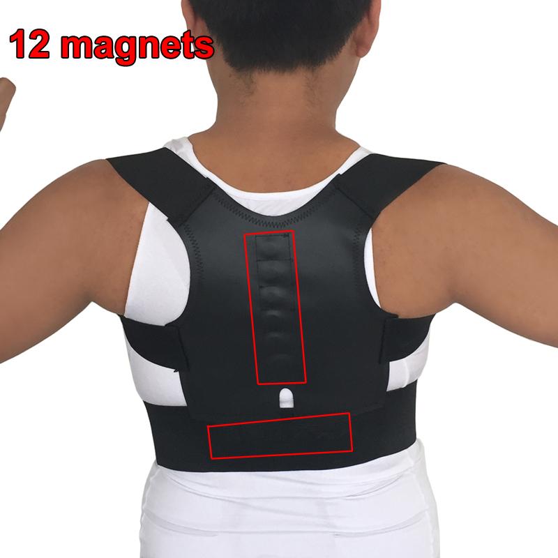 Back Support for Children Magnetic Posture Corrector Orthopedic Corset Lumbar Support Belts Back Corrector Postura Back Shoulder