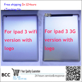 Original For ipad 3 3G version WIFI version Battery Door Back Rear Housing Cover Case  Replacement Parts Test ok,+tracking
