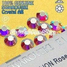 Swarovski Elements AB Crystal (001AB) ( No Hotfix   Hotfix ) Iron On ( ss3  - ss48 ) ( 1mm - 11mm ) Flatback Rhinestone 53c09732d6a0