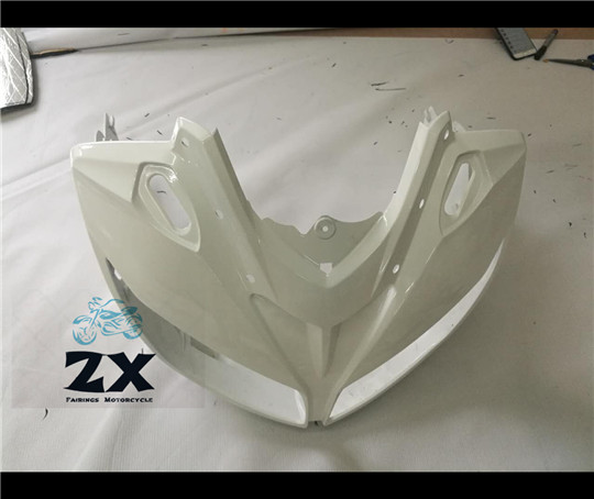 ABS Injection Molding Upper Fairing Cowl Nose Fairing Face Cover For YAMAHA 2006-2015 FZ1 FAZER  injetion ����������������