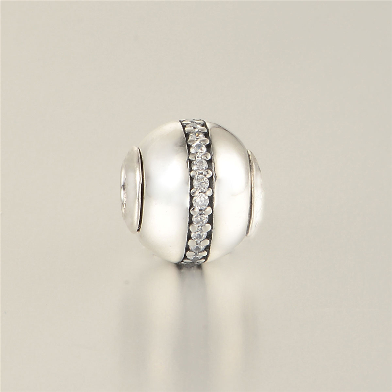 d2854bd21 Essence style Small Beads note STABILITY Charms Fit Pandora Essence Bracelet  925 Sterling Silver Jewelry DIY Making ST108