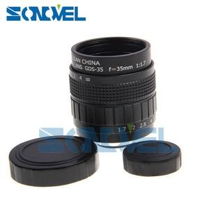Image 2 - FUJIAN 35mm F1.7 CCTV TV Film objektiv + C Montieren + Macro ring für Panasonic Micro 4/3 m4/ 3 GF5 GF6 GX1 GX8 GX7 G85 G7 GH5s GH4 GH2 GH3