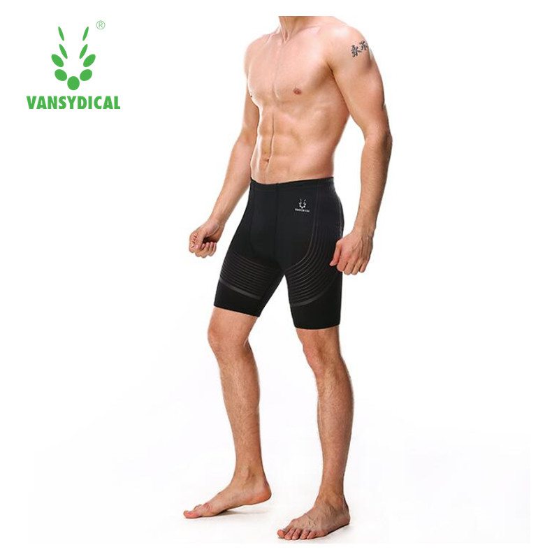 Vansydical Man Swimwear Swimsuits Swimming Boxer Shorts Sports Suits Surf Board Shorts Trunks Men Swim Suits Summer