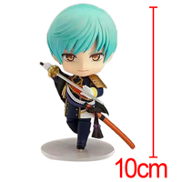 C F Games Touken Ranbu Online Anime Action Figure Toys Ichigo Hitofuri 10 CM Mini PVC