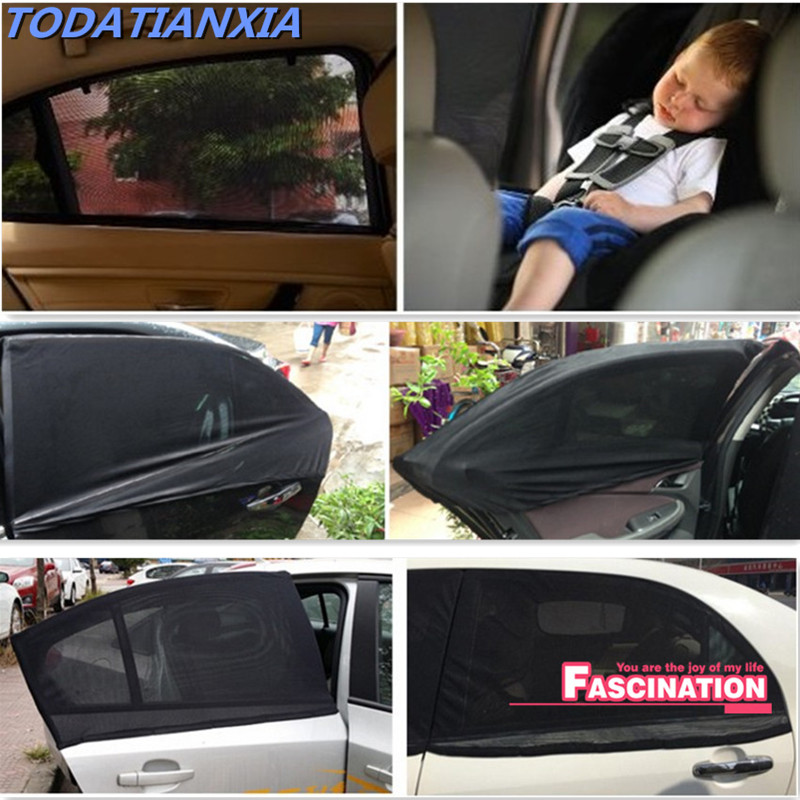 Car Interior Side Window Sunshade Curtain Uv Protection