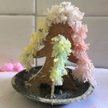100PCS Newly Hot 2019 65mm H DIY Multicolor Paper Magic Growing Tree Mystic Christmas Trees Educative Kids Science Toys Novelty
