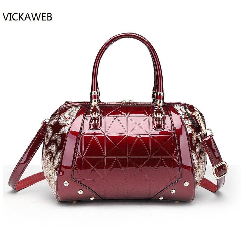 embroidery flower women handbag waterproof women shoulder bags luxury brand pu leather bag ladies purses and handbags