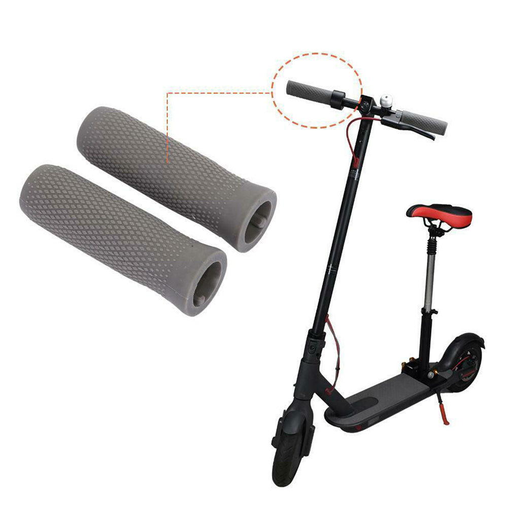 Silicone Cover Easy Install Accessories Professional Anti Slip Practical Soft Durable Electric Scooter Handle Grip For Ninebot