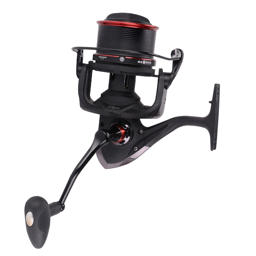 12+1BB Sea Fishing Reel Good Fishing Spinning Reels for Saltwater Fishing TSP 8000 9000 10000 Series 4.1:1 Gear Ratio image