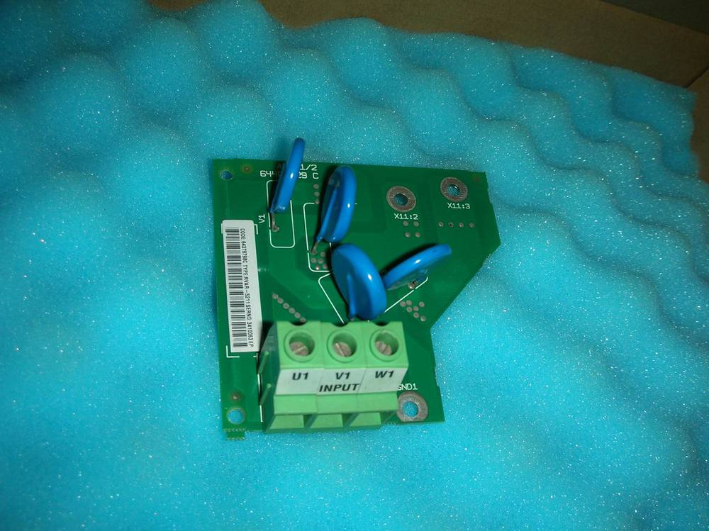 1PC USED ABB filter board RVAR-5211 1pc used nvar 31 used acs600 abb series inverter power input board