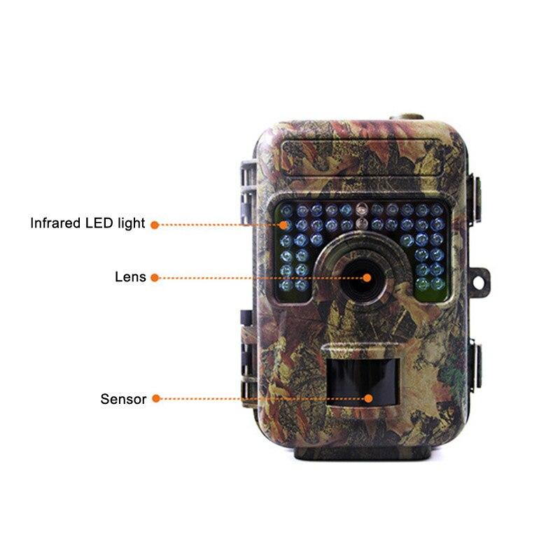 Vente chaude caméra de chasse IR LEDs Vision nocturne caméscope étanche caméra de repérage pour la surveillance