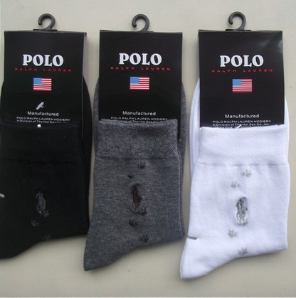Free shipping POLO casual cotton men's socks