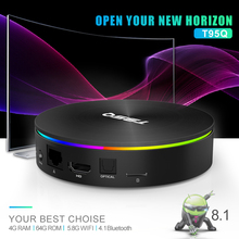 Android 8.1 T95Q TV BOX 4GB 64GB 32GB Amlogic S905X2 4K H2.65 1000M 2.4GHz/5GHz WIFI Smart Set-top box Media Player BT4.0 gpokhds big size 33 45 high quality hot sale 2017 new style women casual black color cut outs lace up oxfords shoes flats shoes