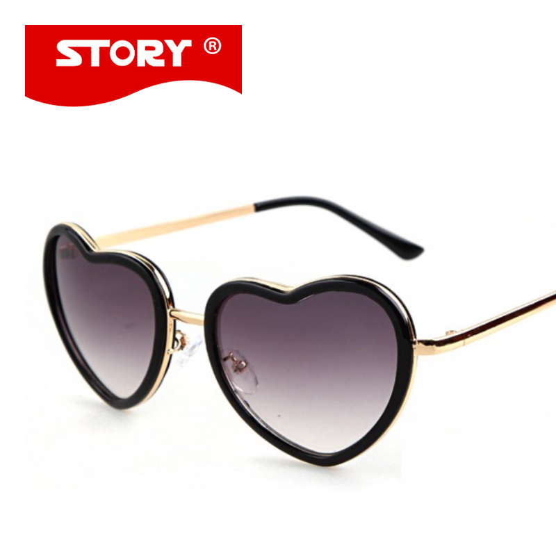 Heart Sunglasses Bulk  online whole heart shaped sunglasses from china heart