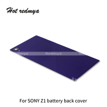 цена на For Sony Xperia Z1 L39H C6902 C6903 Rear Battery Cover Back Door For Sony Xperia Z1 Compact Mini D5503 M51w Housing Glass Case