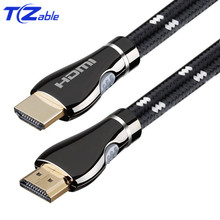 HDMI Cable 2.0 Male To Male 4K 3D Support HDR HD Adapter Cable For PS4 Projector Computer Gold Plated Plug Audio Video Cables multi color 24k gold plated 3 5mm male to male audio cables 100cm 5 pcs
