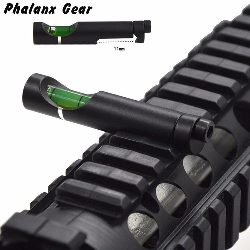 Military Gear Anti Cant Bubble Scope Level For 20mm Weave / Picatinny Rail Mounts Hunting Accessories