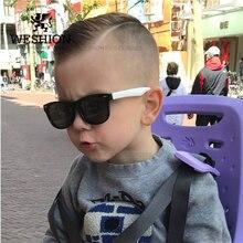 Солнцезащитные очки Детские поляризованные Детские Классические брендовые дизайнерские очки с заклепками TAC TR90 Гибкая Защитная оправа Оттенки для мальчиков и девочек