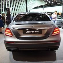 цена на For Benz W213 Spoiler High Quality ABS Car Rear Wing Spoiler For Benz W213 E300 E320 E260 E63 Spoiler 2015-2017