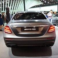 Para o Benz W213 Spoiler ABS de Alta Qualidade Traseira Do Carro Asa Spoiler Para Benz W213 E300 E320 E260 E63 Saqueador 2015  2017|Spoilers e aerofólios|   -