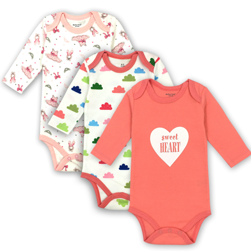 Newborn Bodysuit Baby Clothing Cotton Body Baby Long Sleeve Underwear Infant Boys Girls Clothes Baby's Sets