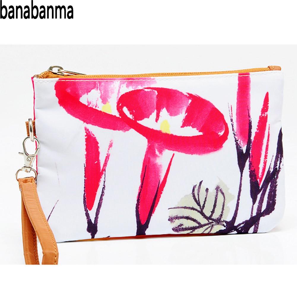 Banabanma Fashion Handbag Envelope-Package Clutch-Bag 3d-Printing Zipper Large-Capacity