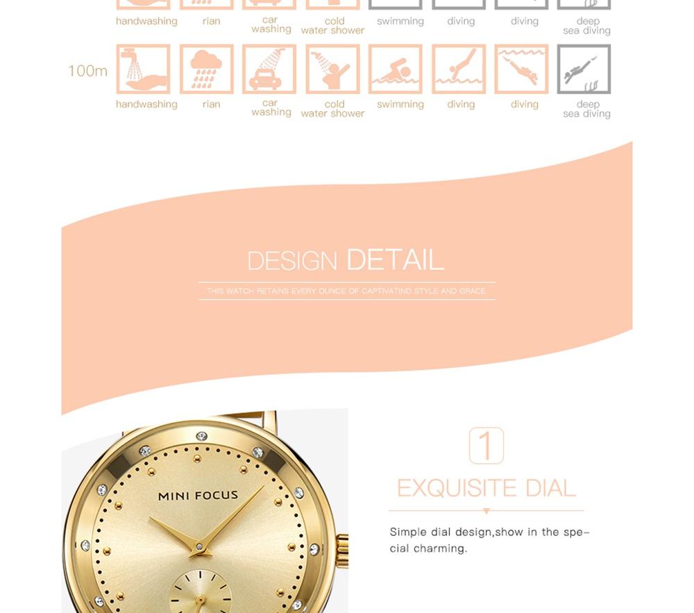 Ladies Watch Clock Brand 7