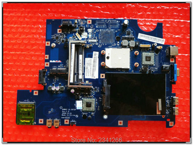 LA-5972P для Lenovo G555 NAWA2 LA-5972P интегрированный Ноутбук материнской платы ноутбука в хорошем condittion полностью испытанная деятельность задолго