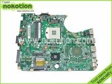 A000075380 laptop motherboard for toshiba satellite L655 L650 31BL6MB0000 DA0BL6MB6G1 intel HM55 DDR3 Free shipping