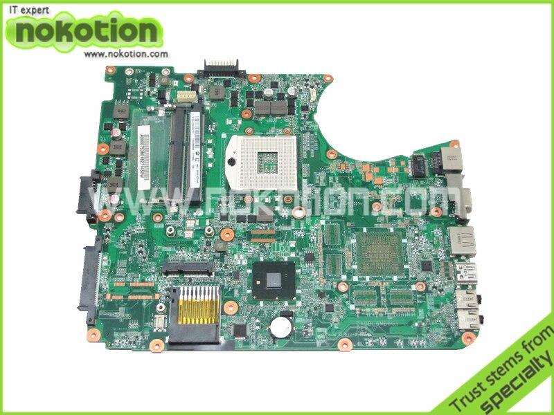 все цены на  A000075380 laptop motherboard for toshiba satellite L655 L650 31BL6MB0000 DA0BL6MB6G1 intel HM55 DDR3 Free shipping  онлайн