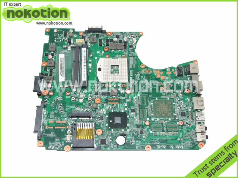 NOKOTION A000075380 laptop motherboard for toshiba satellite L655 L650 31BL6MB0000 DA0BL6MB6G1 intel HM55 DDR3 Free shipping for toshiba satellite l745 l740 intel laptop motherboard a000093450 date5mb16a0 hm65 tested
