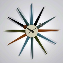 Designer Sunburst wall clock/wall watch/horloge/Wholesale clock Classic/Hot selling/free shipping